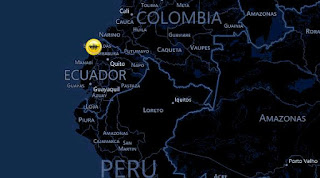 6.4 Earthquake Hits Ecuador