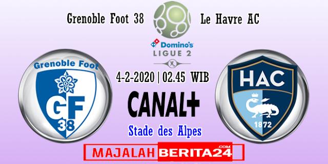 Prediksi Grenoble vs Le Havre — 4 Februari 2020