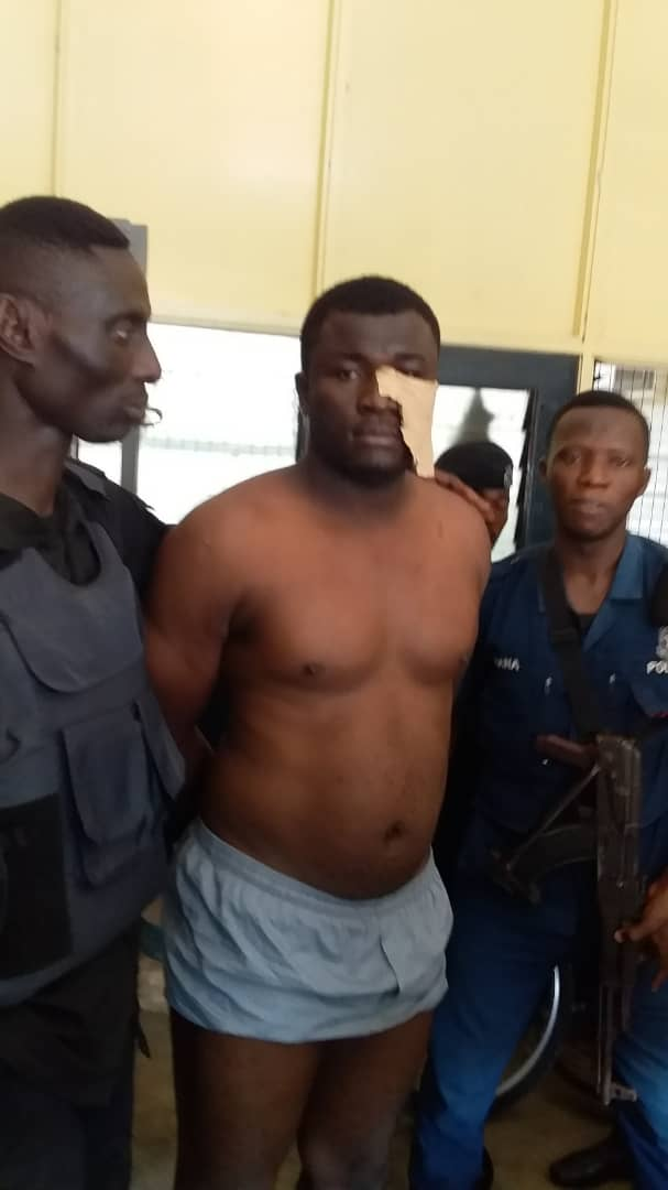 Police  Arrests Suspect In K!ll!ng of Two Policemen