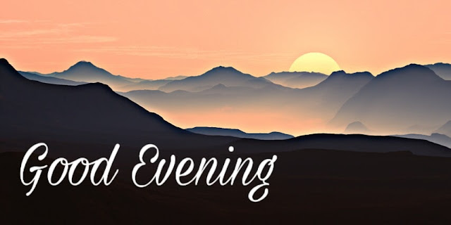 Good evening sunset picture