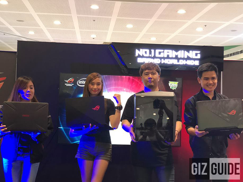 ASUS ROG launches new gaming laptops and limited edition G-Shock watch!