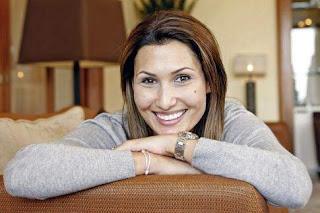 Stan Wawrinka Ex Wife IlhamVuilloud With Cheerful Smile