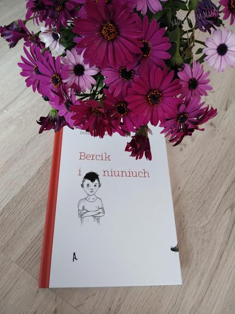 Bercik i niuniuch. Książka o trudnym temacie rozstania rodziców.
