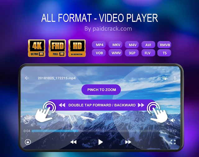 UVideo Player Premium Apk - All Format  1.7.1 [Latest Version]