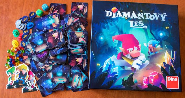 recenze hry Diamantový les
