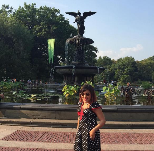 fontaine Bethesda Central Park