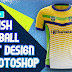 Stylish Football Shirt Design in Photoshop cc 2019 by M Qasim Ali