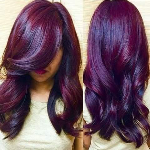 marsala hair cabelo