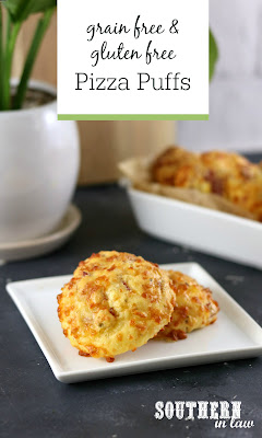 Grain Free Pizza Puffs Recipe Low Carb Keto