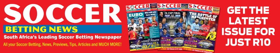 Soccer Betting News - SA's Leading Soccer Betting Newspaper