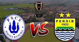 PSCS Cilacap vs Persib Bandung