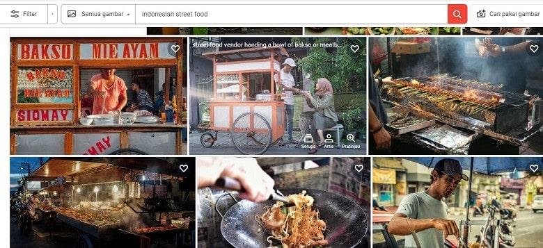 indonesian street food shutterstock