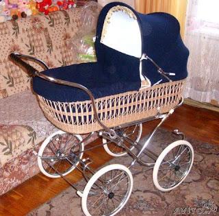 детские коляски старинные фото