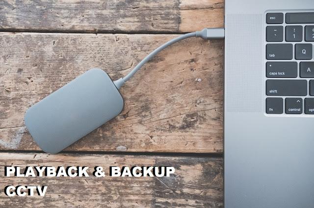 Cara Playback dan Backup Rekaman CCTV hikvision Terbaru