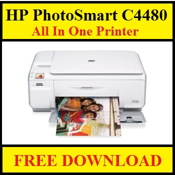 HP PhotoSmart C4480 All In One Printer