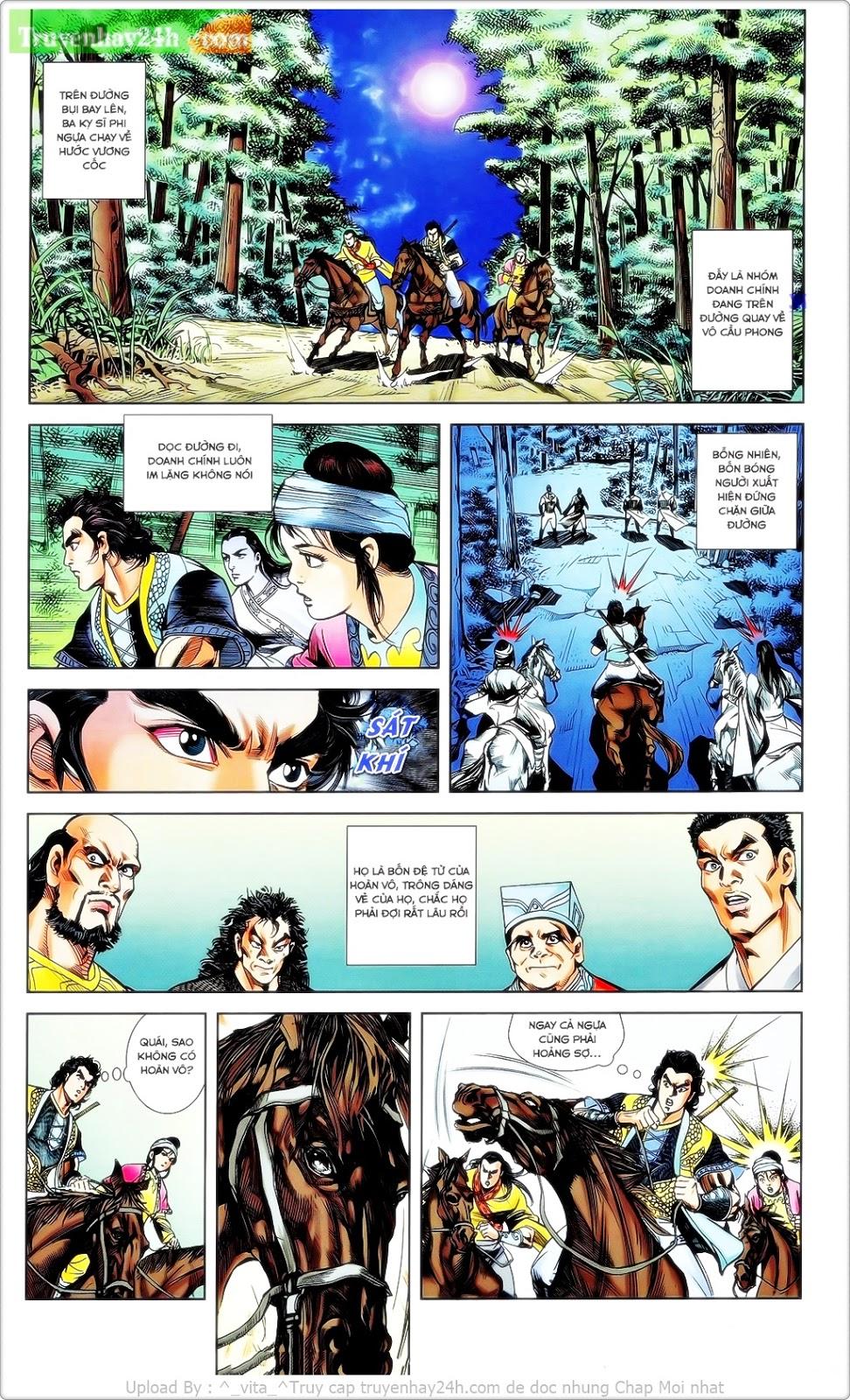 Tần Vương Doanh Chính chapter 23 trang 14