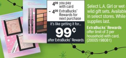 FREE Makeup Gift Sets at CVS