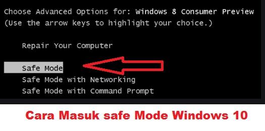 Cara-Masuk-safe-Mode-Windows-10