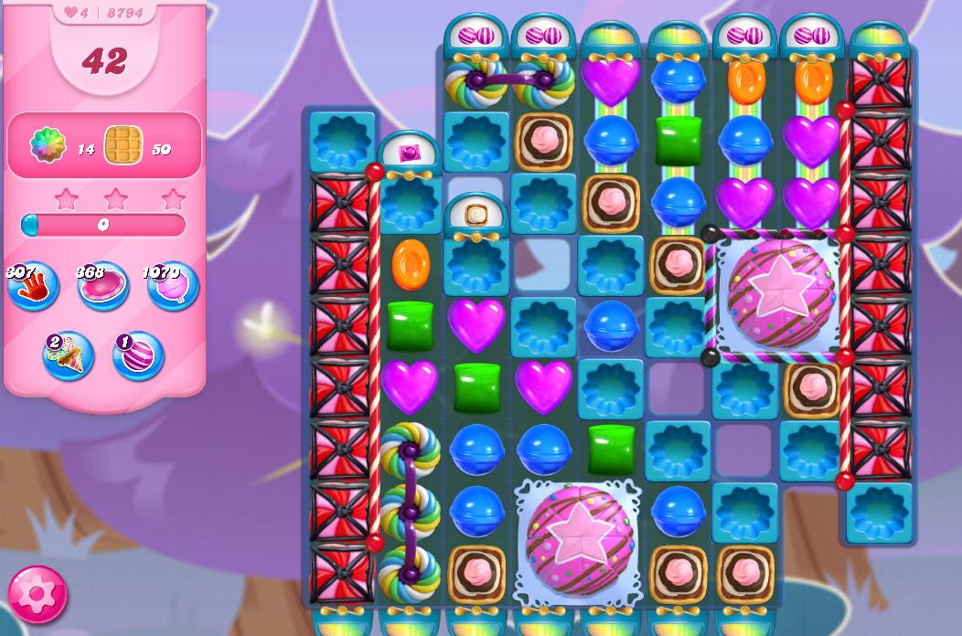 Candy Crush Saga level 8794