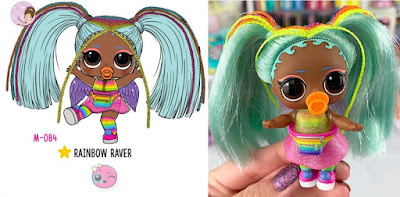 Rainbow Raver L.O.L. Surprise Hair Goals wave 2 doll