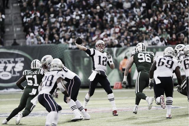 FÚTBOL AMERICANO - Victoria trabajada de los Patriots en el MetLife Stadium con récord histórico de Brady
