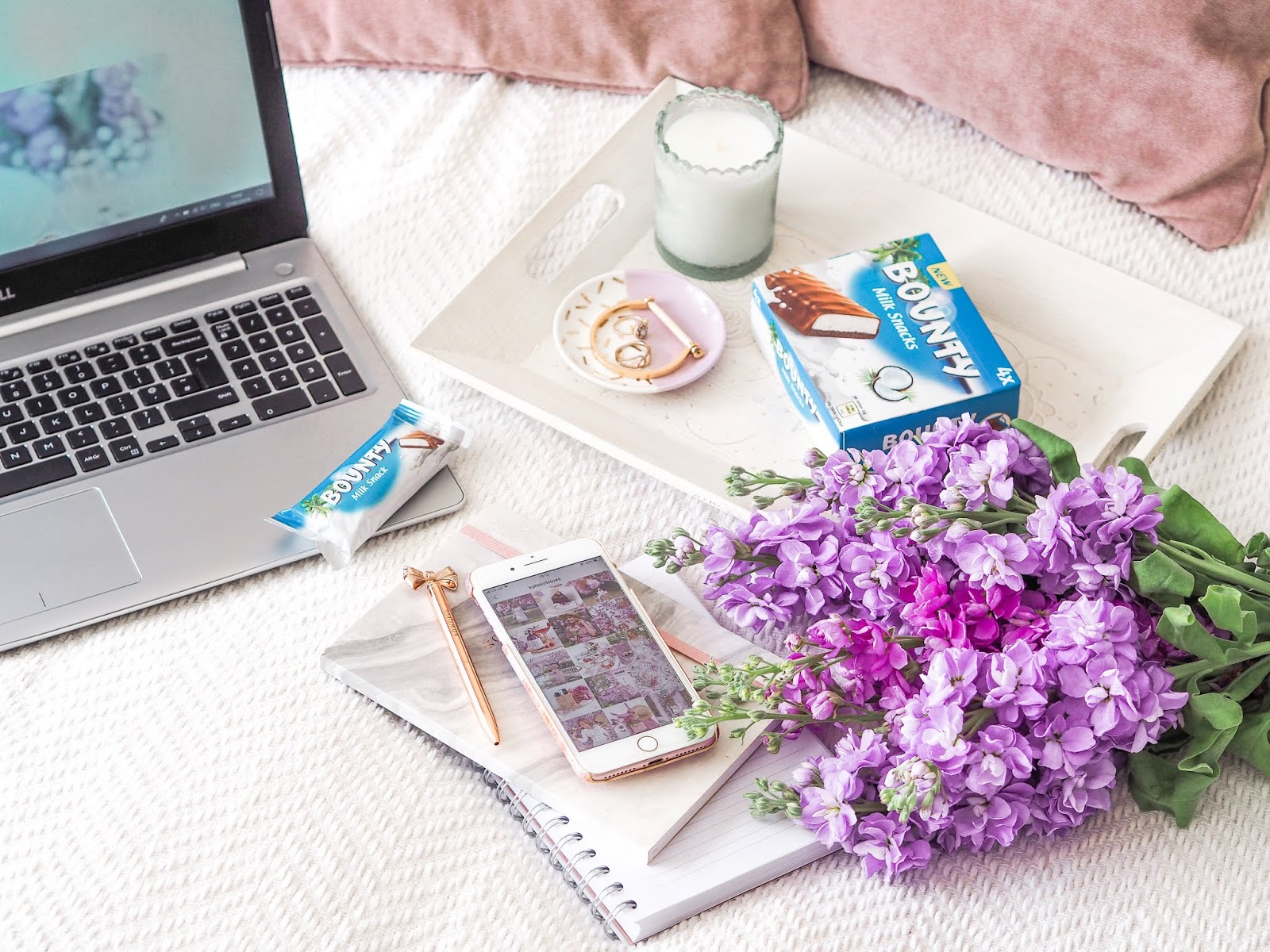 5 Ways I'm Taking A Break This Summer, Katie Kirk Loves, UK Blogger, Lifestyle Blogger, Bounty Milk Snacks, Take A Break, Freelance Blogger