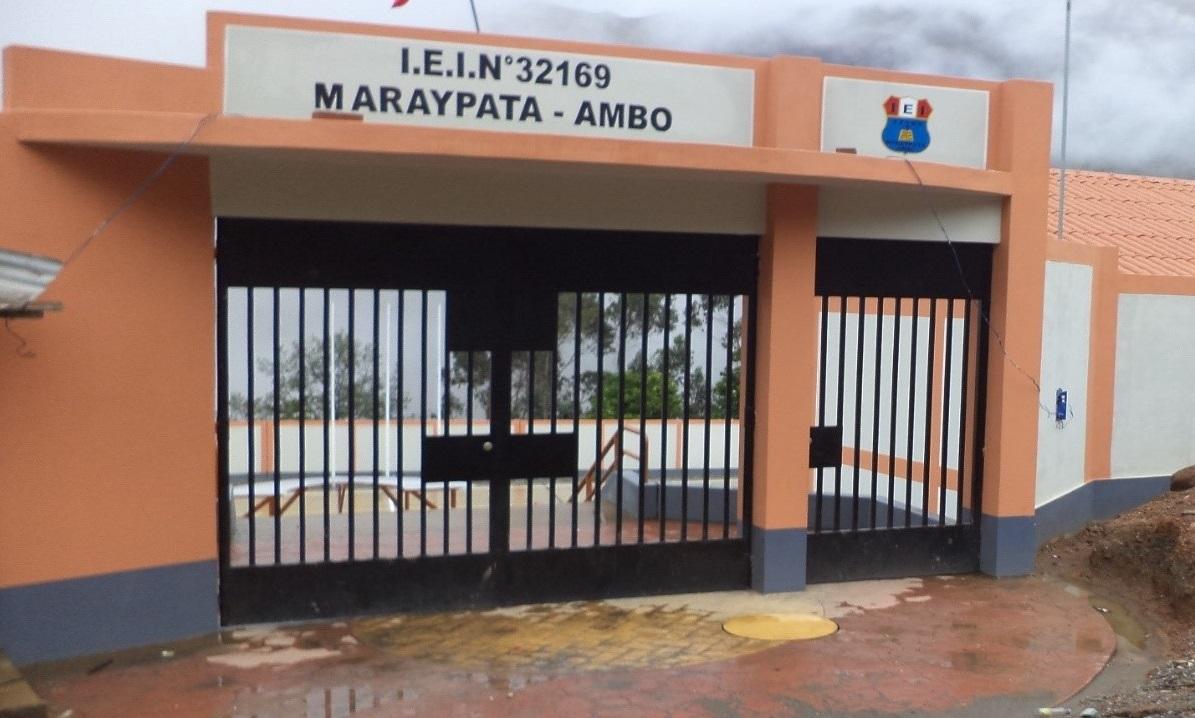 Escuela 32169 DAYSI YENY SOTO MORY - Maraypata
