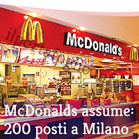 mcdonalds assume a milano nel 2018
