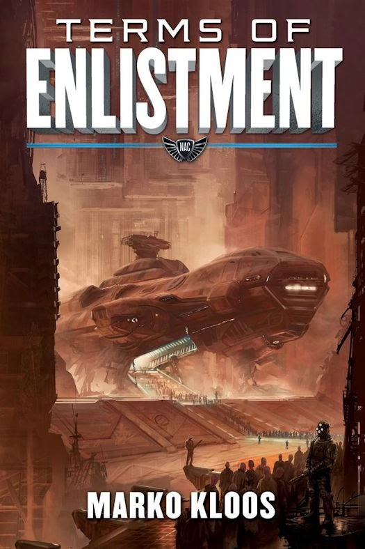2014 Debut Author Challenge Update: Terms of Enlistment by Marko Kloos