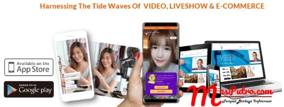 Konsep Live Streaming NOWME