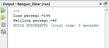 Menghitung Persegi Dengan Java