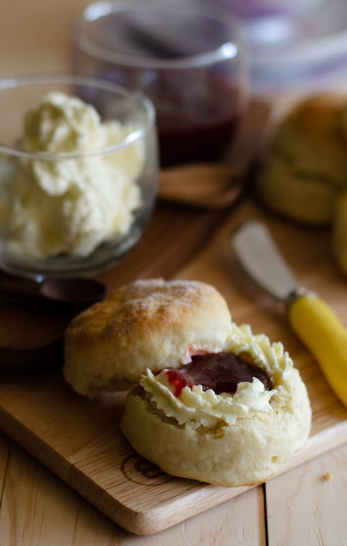 Basic scones recipe