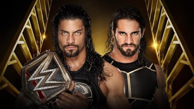 WWE Money in the Bank 2016 - Roman Reigns vs Seth Rollins ...