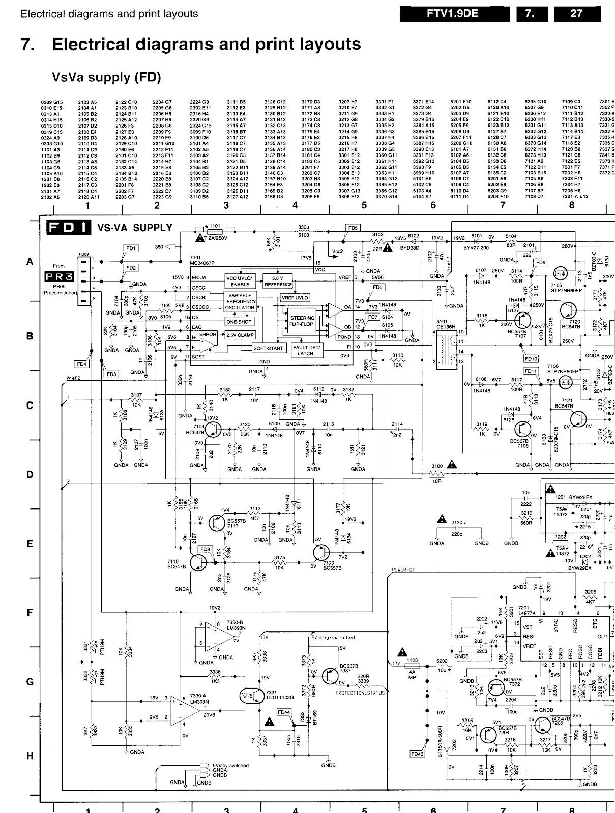 Electro help: PHILIPS - FTV-19 _ PLASMA _ POWER SUPPLY ...