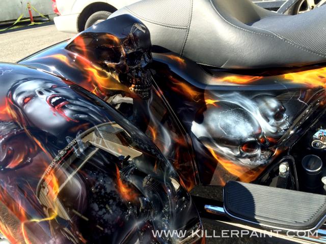 Motorcycle Paint Shop Near Me detail