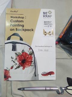 Workshop Painting at Backpack