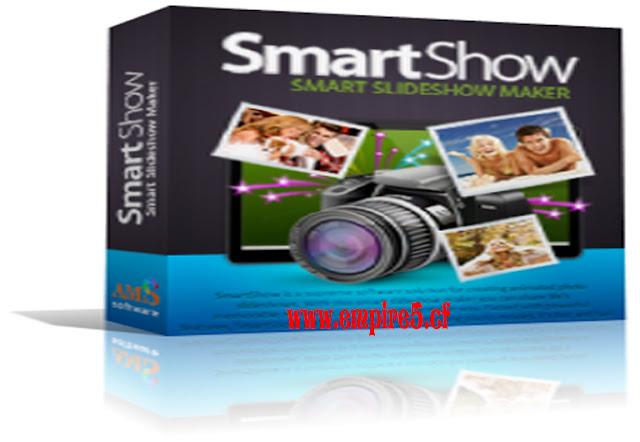 برنامج SmartSHOW لعمل مقطع فيديو من البوم الصور وأضافة التأثيرات والنصوص على الفيديو مجانى
