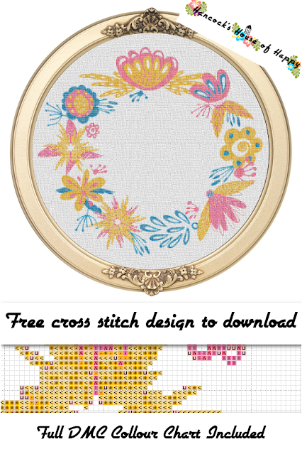 Free Flower Wreath Cross Stitch Pattern, Free Wedding Cross Stitch Pattern, Wedding Cross Stitch Pattern, Free Anniversary Cross Stitch, Modern Cross Stitch Border, happy modern cross stitch pattern, cross stitch funny, subversive cross stitch, cross stitch home, cross stitch design, diy cross stitch, adult cross stitch, cross stitch patterns, cross stitch funny subversive, modern cross stitch, cross stitch art, inappropriate cross stitch, modern cross stitch, cross stitch, free cross stitch, free cross stitch design, free cross stitch designs to download, free cross stitch patterns to download, downloadable free cross stitch patterns, darmowy wzór haftu krzyżykowego, フリークロスステッチパターン, grátis padrão de ponto cruz, gratuito design de ponto de cruz, motif de point de croix gratuit, gratis kruissteek patroon, gratis borduurpatronen kruissteek downloaden, вышивка крестом