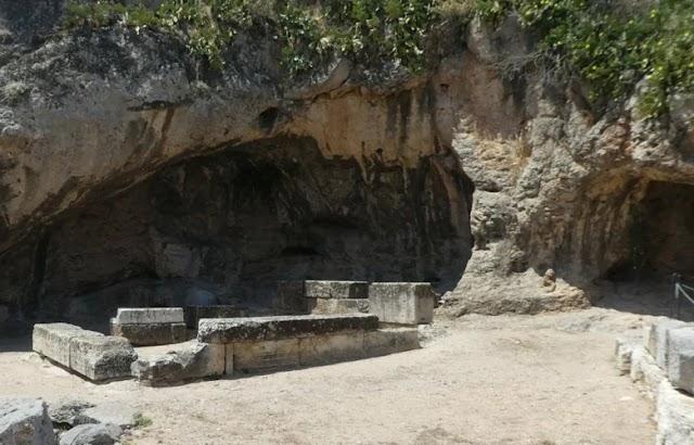 Παλιοί θρύλοι στην Αττική για τον Κάτω Κόσμο: Πλουτώνιο Σπήλαιο Ελευσίνα