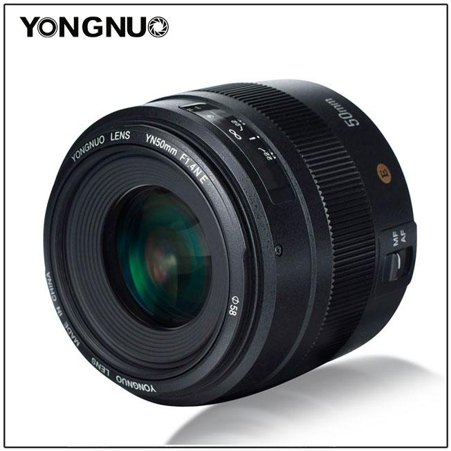 Объектив Yongnuo YN 50mm f/1.4N E