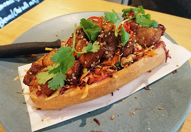Peddler Cafe, Nunawading, pork belly banh mi
