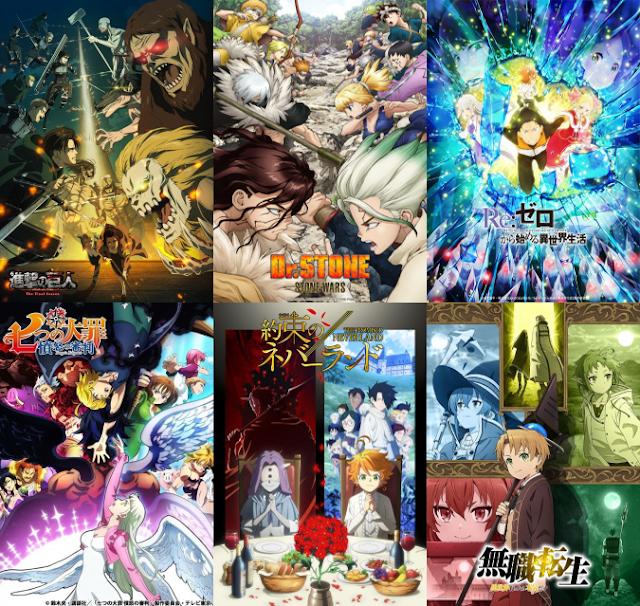 Rekomendasi Anime Terbaik Winter Season 2021