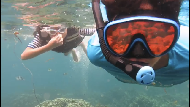 snorkeling in Lampung
