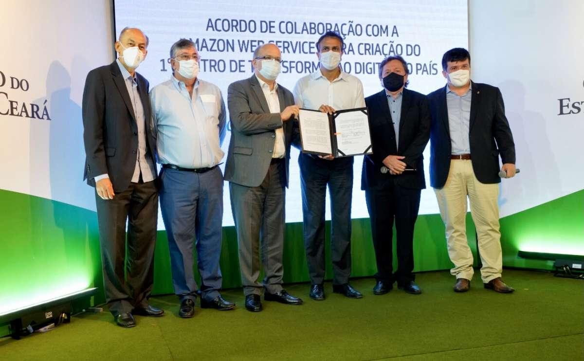 Ceará fecha acordo com Amazon Web Services
