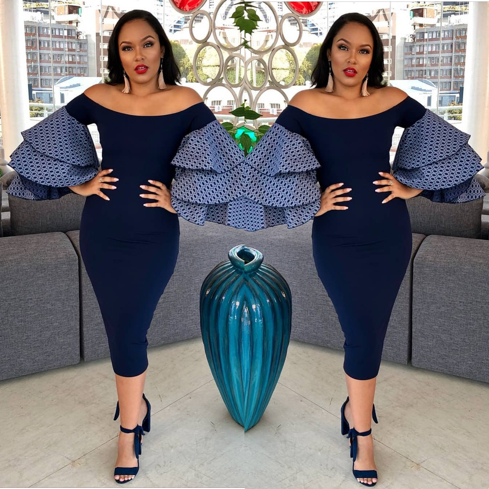 Celebrity Wedding Guest Outfits 2019: Plain And Patterned Ankara Styles 2018 Every Stylish Women