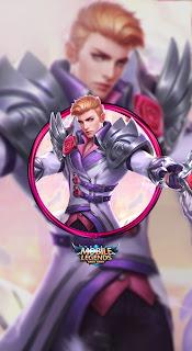Alucard Romantic Fantasy Heroes Fighter Assassin of Skins Valentine V2