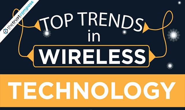 Top trends in wireless technology and communication 2018 #infographic