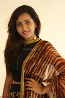Lasya looks super cute in black choli Saree at Raja Meru Keka Press Meet ~  Exclusive 080.JPG