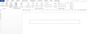 Fungsi Mail Merge Microsoft Word