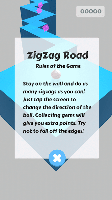 ZigZag road android arcade game rules